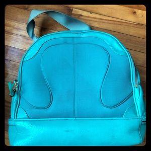 Well loved Lulu weekender bag
